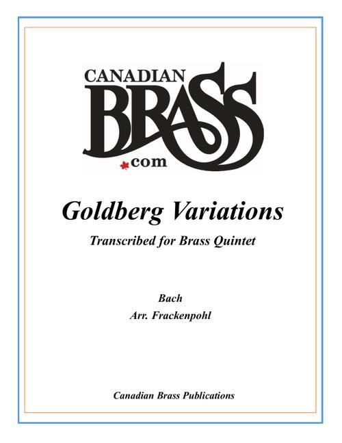 Goldberg Variations Brass Quintet (Bach/ arr. Frackenpohl) archive set