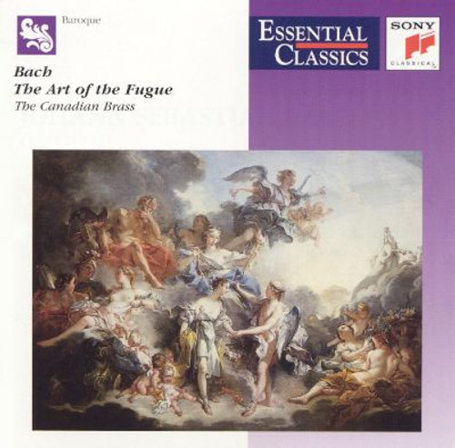 CANADIAN BRASS: BACH-ART OF THE FUGUE CD