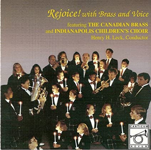 REJOICE! WITH BRASS AND VOICE CD