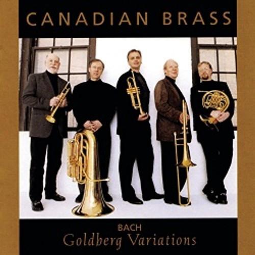CANADIAN BRASS: GOLDBERG VARIATIONS (BACH)