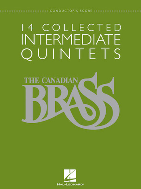 14 Collected Intermediate Brass Quintet Series