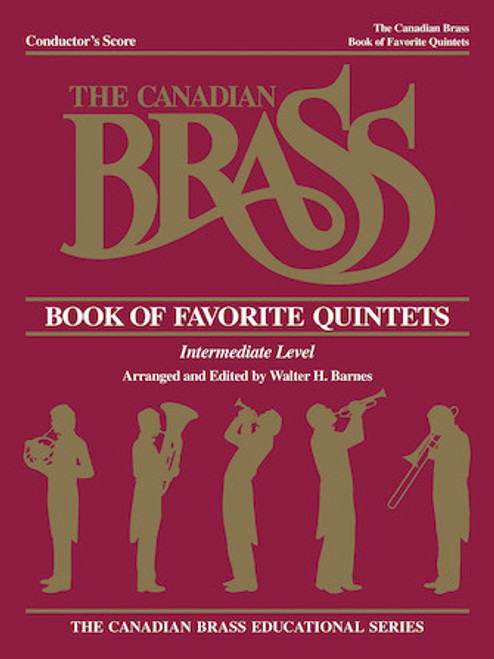 Canadian Brass Book of Favorite Brass Quintets Series