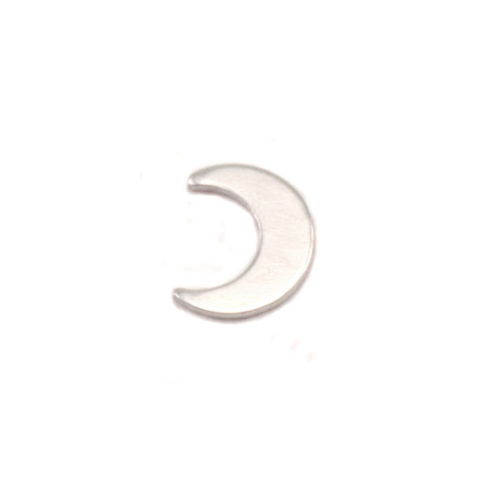 Sterling Silver Solderable Accent  - Moon 24g