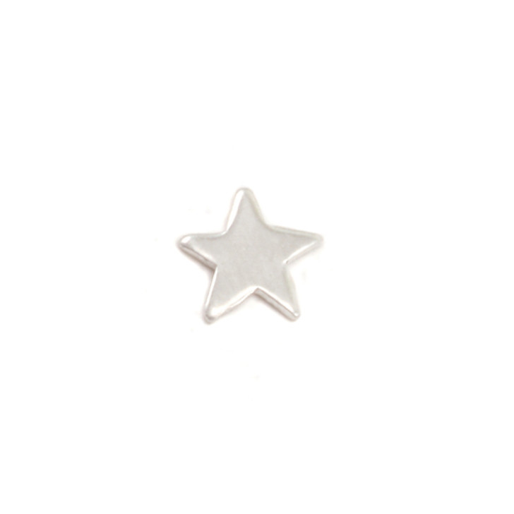 Sterling Silver Solderable Accent  - Tiny Star 24g