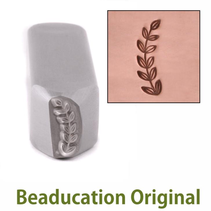 Caesar Bracket Border Design Stamp 11.75x4.7mm