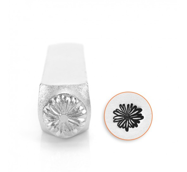 6mm Dandelion Flower Metal Punch Design Jewelry Stamp
