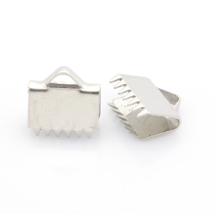 Stainless Steel Clamp End Clasp 10x11x5mm
