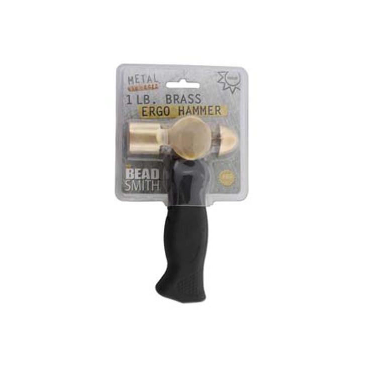 Beadsmith - 1lb Brass Hammer