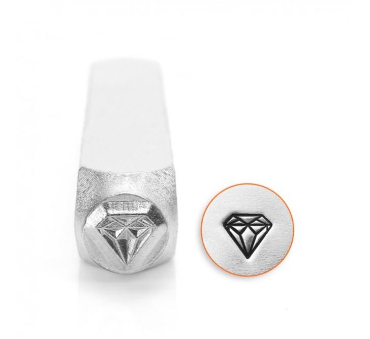 IMPRESSART - Diamond Metal Stamp - 6mm