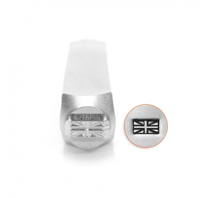 IMPRESSART - British Flag Metal Stamp - 6mm