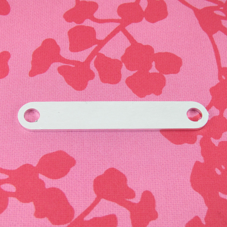 1.5mm Chunky Aluminium Bracelet Connector Stamping Tag Blank