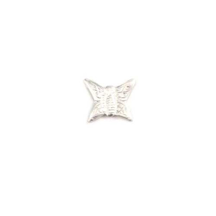 Sterling Silver Solderable Accent  - Butterfly 24g
