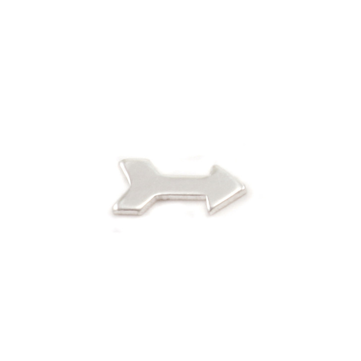 Sterling Silver Solderable Accent  - Silver Arrow 24g