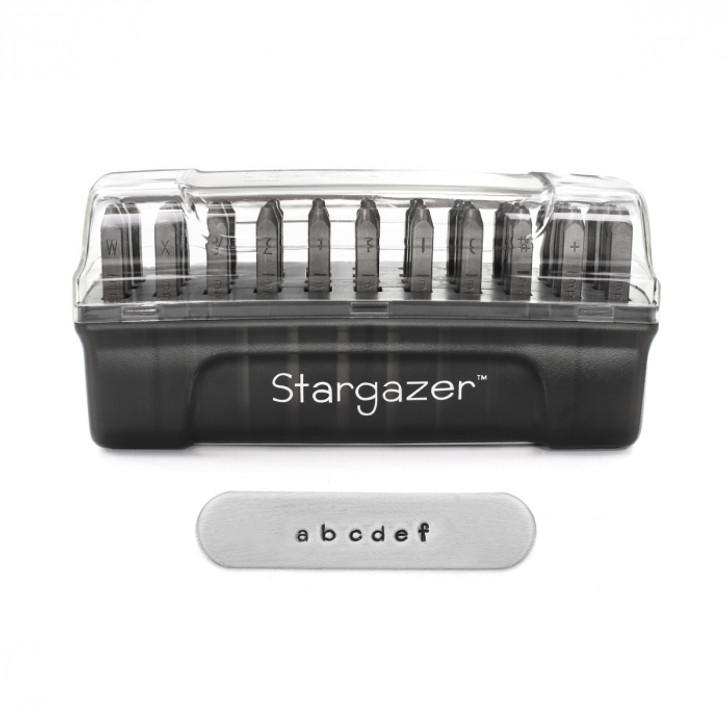 Stargazer Signature Lowercase Metal Stamp Set  2mm