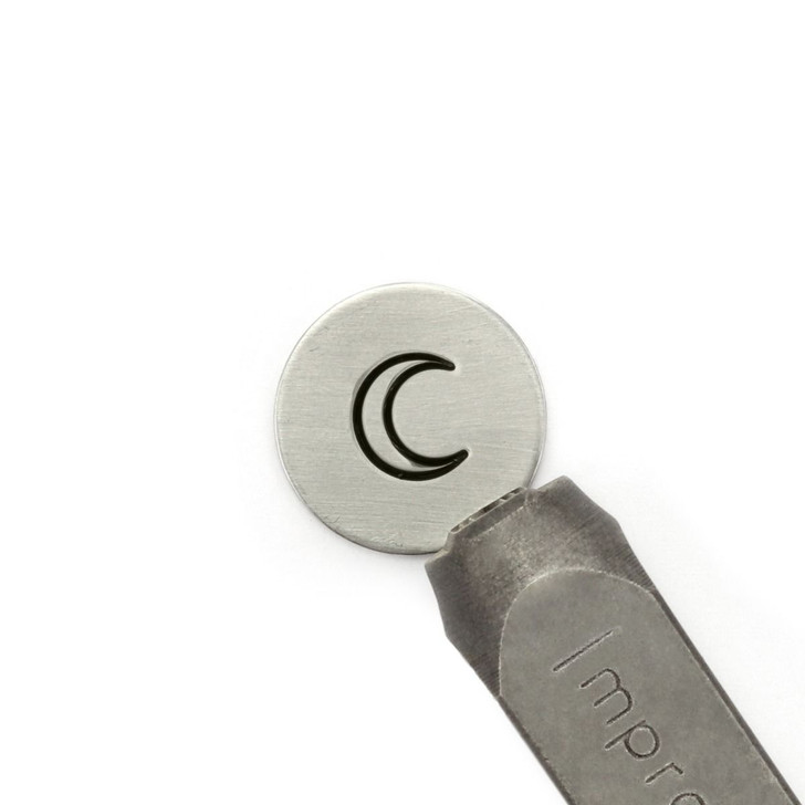 Moon Signature Design Stamp, 9.5mm - ImpressArt