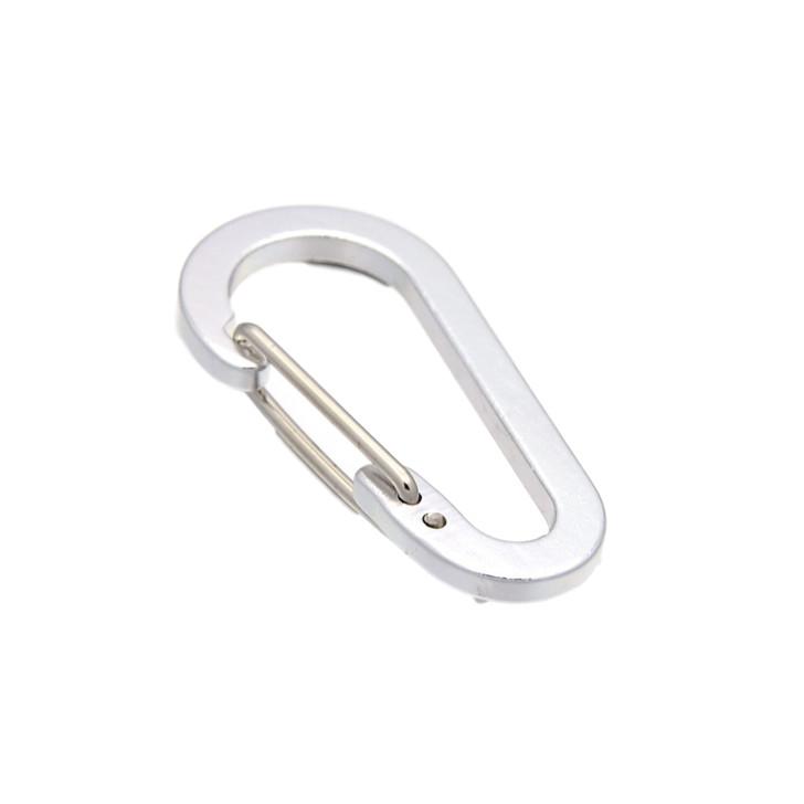 Aluminium Carabiners Key Ring 3pk