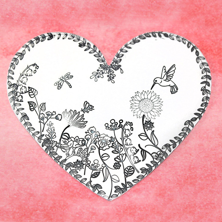 Lily of the Valley Metal Design Stamp - 16mm Beaducation