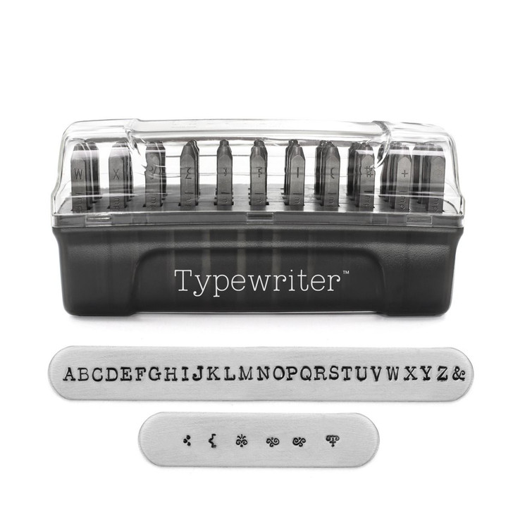 Typewriter Signature Letter Stamps Uppercase 3mm