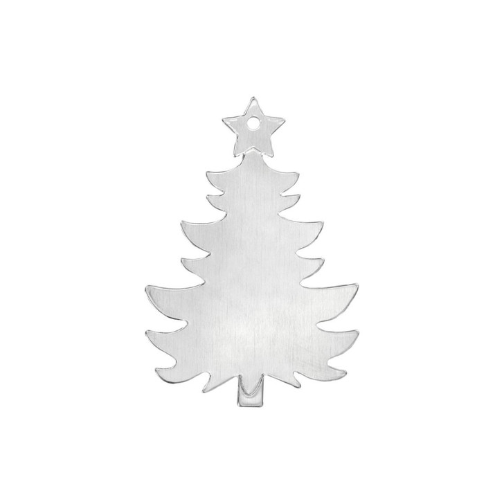 Christmas Tree Ornament Blank 3pk