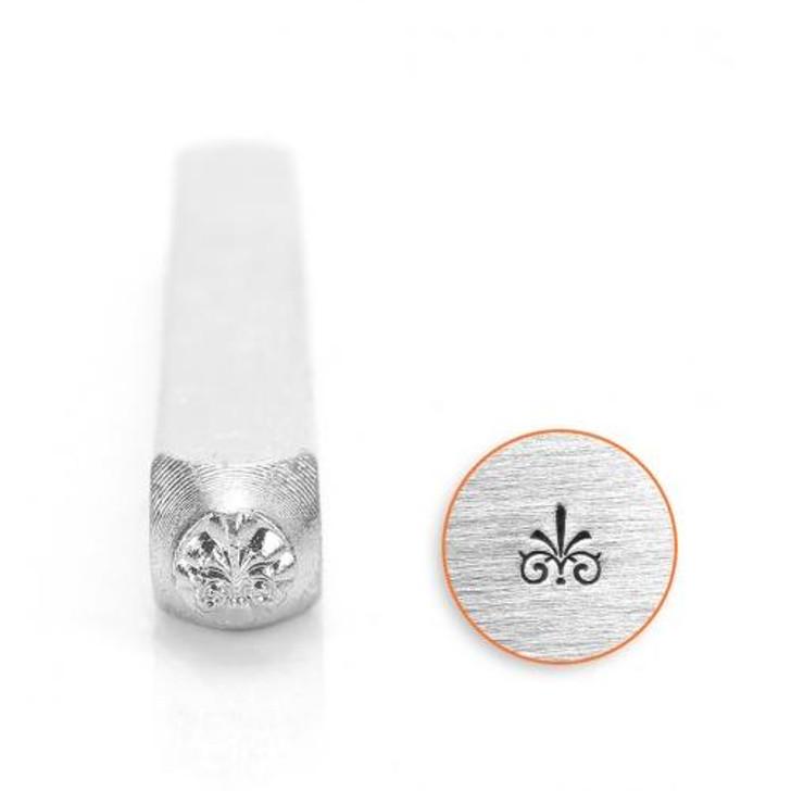 Flourish G Metal Stamp - 3mm - ImpressArt
