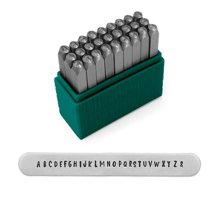 Basic Homeroom Economy Unicase Metal Stamp Set  3mm - ImpressArt