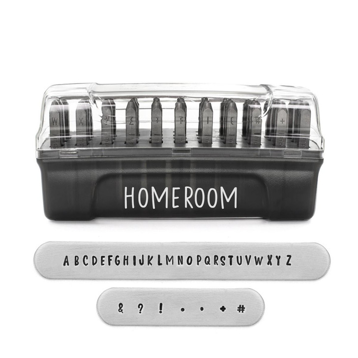 Homeroom Signature Letter Stamps Unicase 3mm