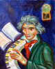 """Beethoven"" acrylic on canvas, october 2017"