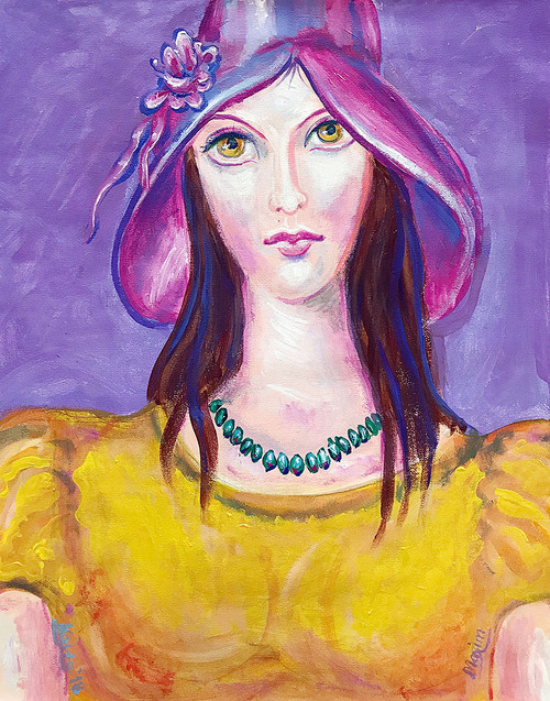 Lady with the Hat (SOLD)