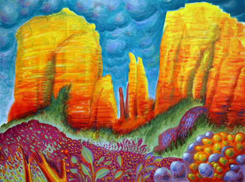 Sedona Cathedral Rock Original