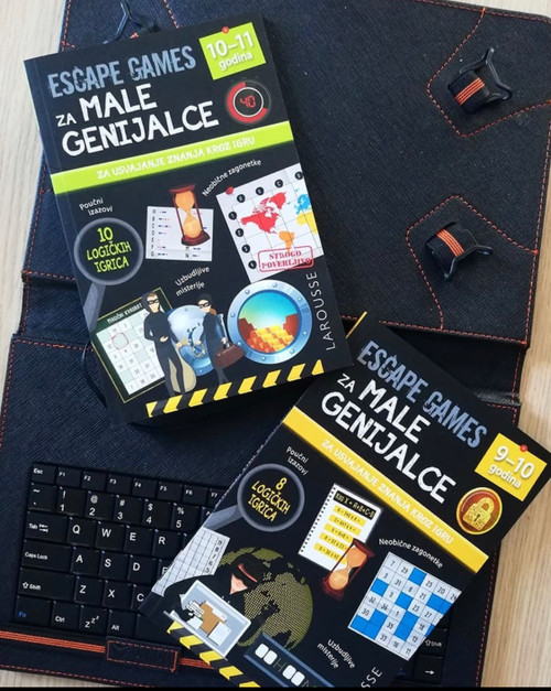 Escape games za male genijalce 9–10, 10-11 godina