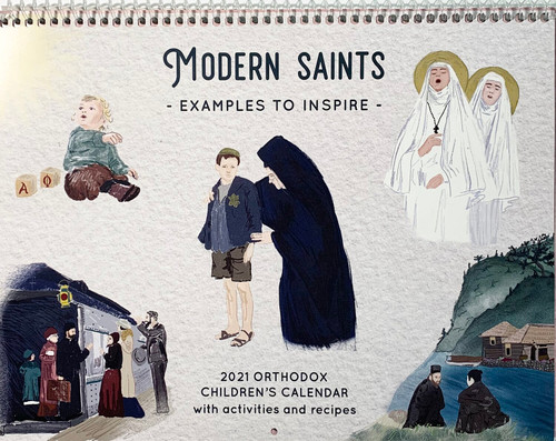 2021 Orthodox Children's Calendar: Modern Saints