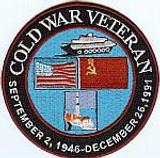 Cold War Veteran Patch.