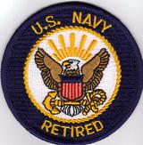 USN Retired patch
