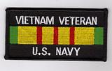 Vietnam Veteran - U.S. Navy PATCH