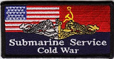 COLD War Submarine Service PATCH