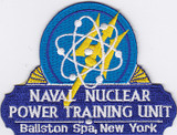 Ballston Spa, New York Naval Nuclear Power Training Unit patch