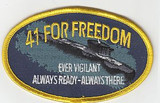 41 For Freedom Patch