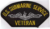 US Submarine Service Veteran patch