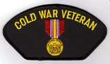 Cold War Veteran with National Defense Medal PATCH