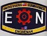 USN Submariner EN Rating patch