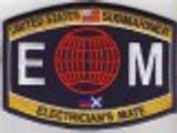 USN Submariner EM Rating patch