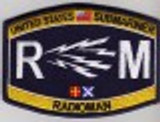 USN Submariner RM Rating patch
