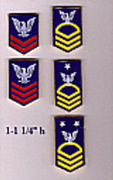 LAPEL PIN, PO and CPO Hat or Vest Pins