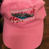 Submariner Sweetheart Design Pink ball cap