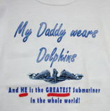 My Daddy Wears Dolpins T-Shirt