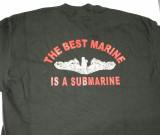 Best Marine T-shirt-black back print