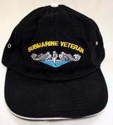 Submarine Veteran-Soft Black ballcaps