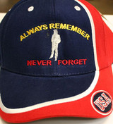 USA Always Remember/Never Forget Ballcaps