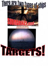 T-SHIRT, Target T-Shirt: Photo Submarine and Target Two types of ships Shirt