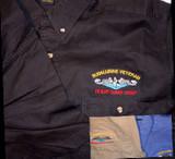 Woven Button up Shirts: Bottom Gun